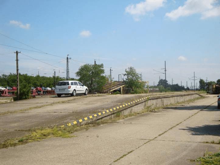 Mosonszentmiklos - railway ramp